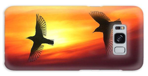 Bird Lovers Galaxy Case