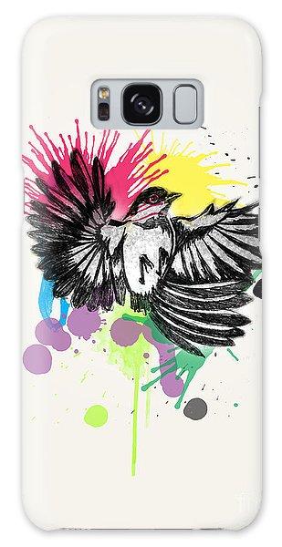 Bird Galaxy Case by Mark Ashkenazi