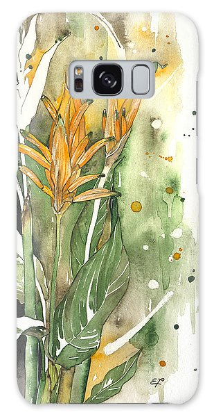 Bird Of Paradise 08 Elena Yakubovich  Galaxy Case by Elena Yakubovich