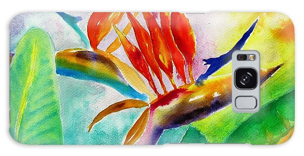 Bird Of Paradise Galaxy Case by Carlin Blahnik