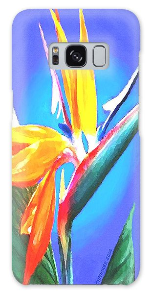 Bird Of Paradise Flower Galaxy Case