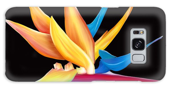 Bird Of Paradise Galaxy Case by Laura Bell
