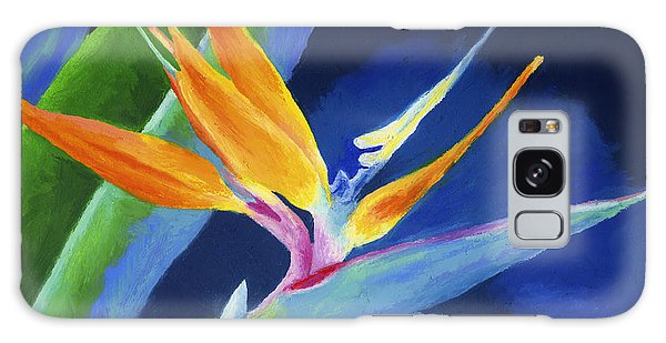 Bird Of Paradise Galaxy Case by Stephen Anderson