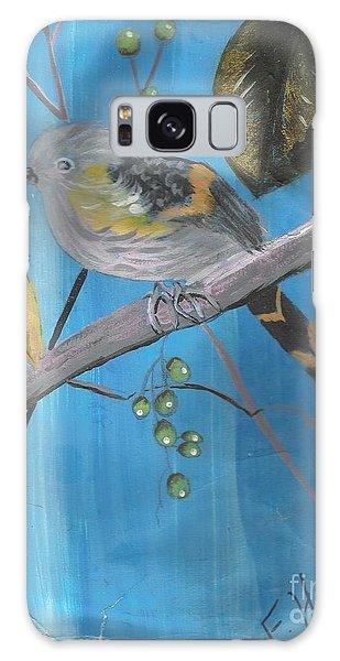 Bird On A Branch  Galaxy Case by Francine Heykoop