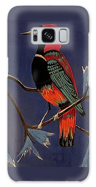 Bird On A Branch Galaxy Case by Kathleen Sartoris