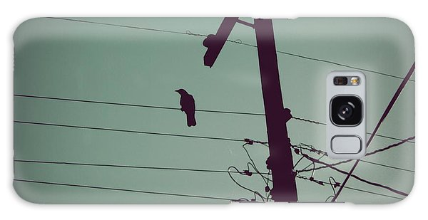 Bird On A Wire Galaxy Case