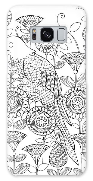 Colours Galaxy Case - Bird Parrot by MGL Meiklejohn Graphics Licensing