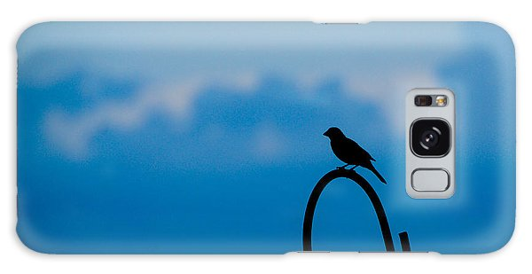 Bird Silhouette  Galaxy Case