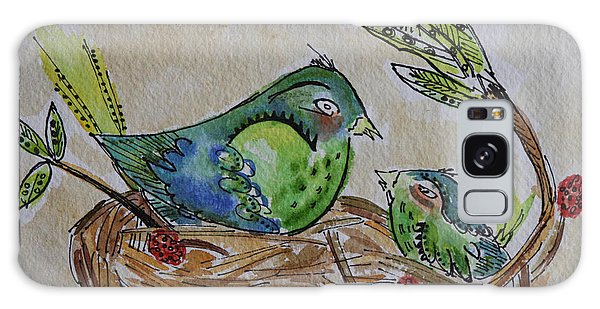 Bird Talk Galaxy Case