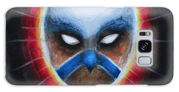 Bird Totem Mask Galaxy Case