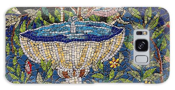 Birdbath Mosaic Galaxy Case