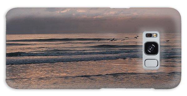 Birds At The Beach  Galaxy Case