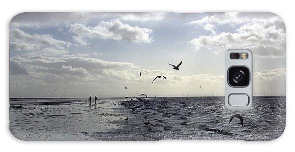 Birds At The Beach 2 Galaxy Case
