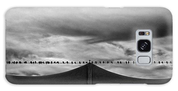 Cloudscape Galaxy Case - Birds by Bob Orsillo