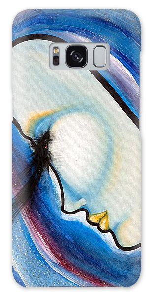 Birds Of A Feather 3 Galaxy Case by Sheridan Furrer