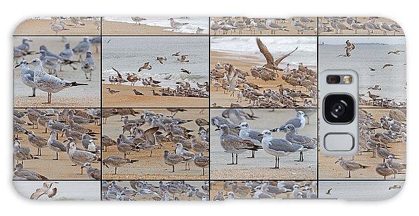 Birds Of Many Feathers Galaxy Case by Betsy Knapp