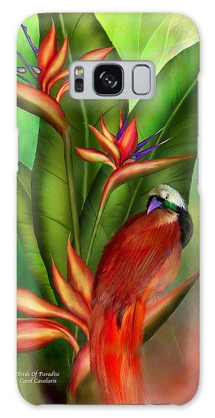 Birds Of Paradise Galaxy Case