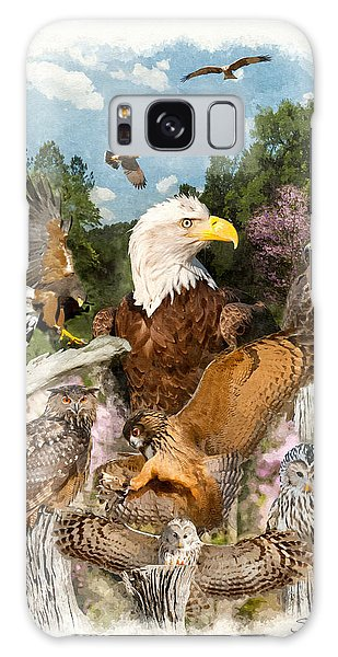 Birds Of Prey Galaxy Case