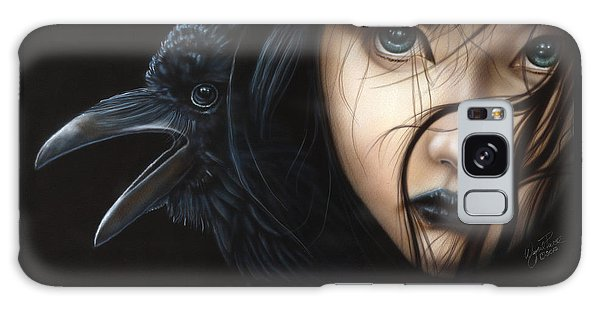 Birds Of Prey- Raven Galaxy Case