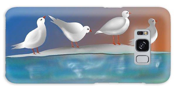 Birds Of Summer Breeze Galaxy Case by Latha Gokuldas Panicker