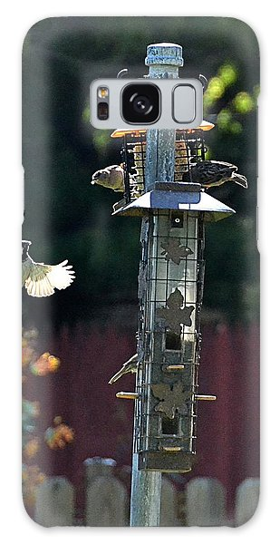 Galaxy Case featuring the photograph Birds03 by Gerald Greenwood