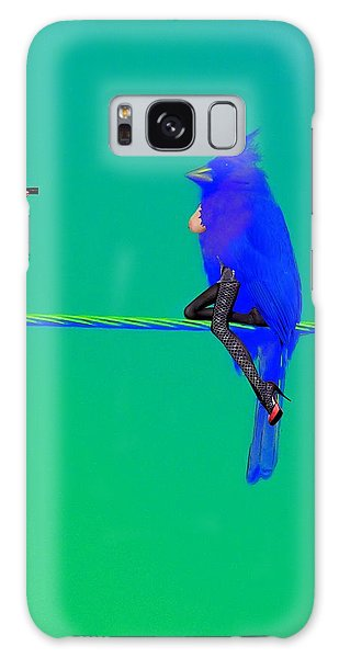 Birdwatcher Galaxy Case by David Mckinney