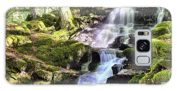 Birks Of Aberfeldy Cascading Waterfall - Scotland Galaxy Case
