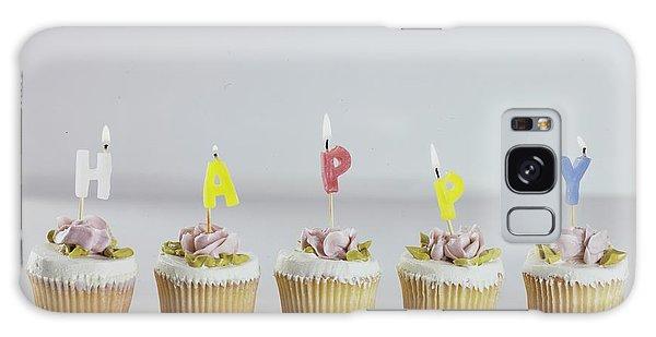 Birthday Cupcakes Galaxy Case