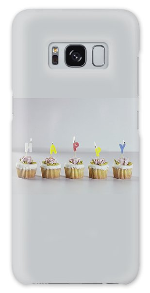 Birthday Cupcakes Galaxy Case