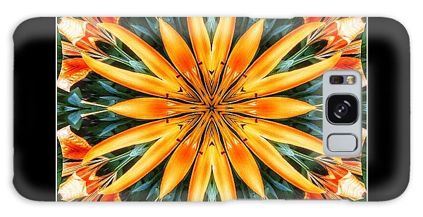 Birthday Lily For Erin Galaxy Case by Nick Heap