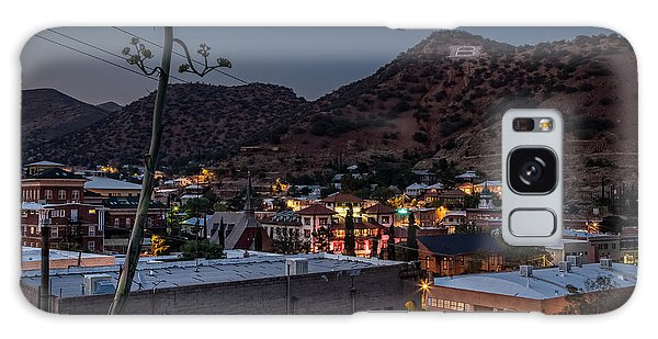 Galaxy Case featuring the photograph Bisbee At Night by Beverly Parks