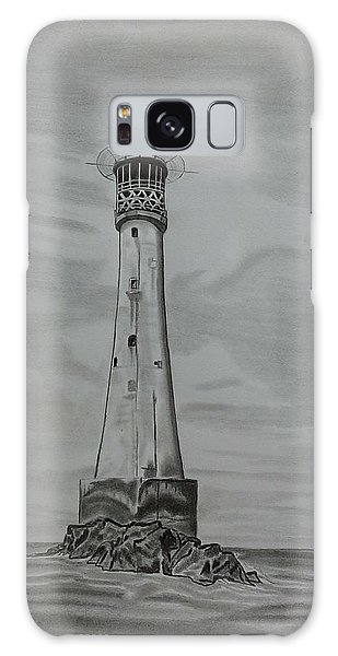 Bishops Rock Lighthouse Galaxy Case