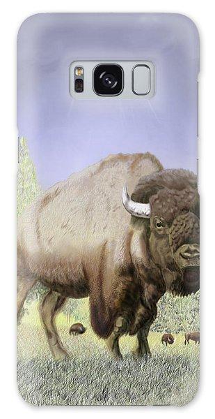 Bison On The Range Galaxy Case