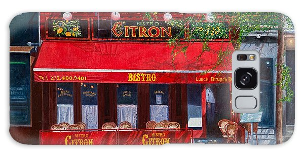Outdoor Dining Galaxy Case - Bistro Citron New York City by Anthony Butera