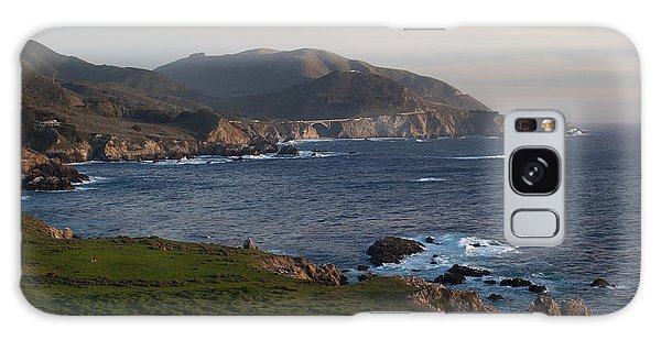 Monterey Galaxy Case - Bixby Bridge And Cows by Mike Reid