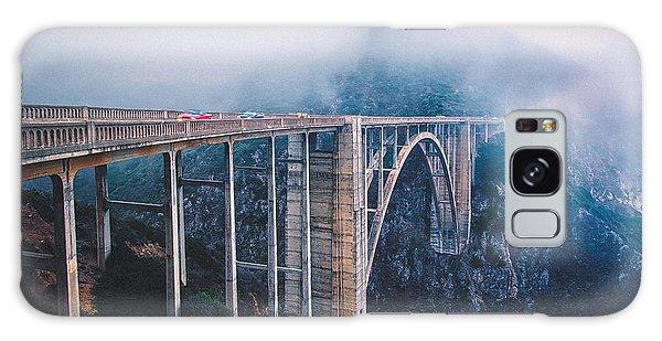 Bixby Creek Bridge Galaxy Case