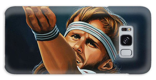 Sportsman Galaxy Case - Bjorn Borg by Paul Meijering