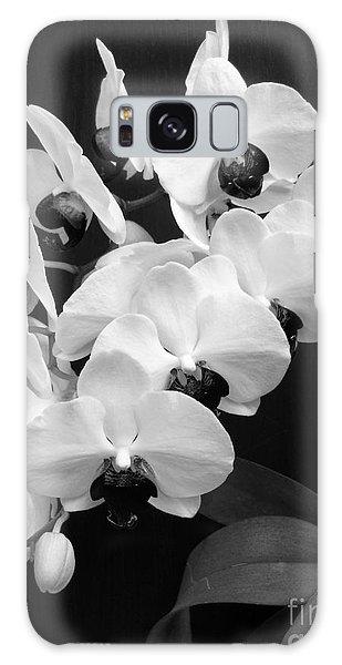Black And White Beauty Galaxy Case by Ramona Matei