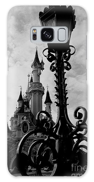 Black And White Fairy Tale Galaxy Case