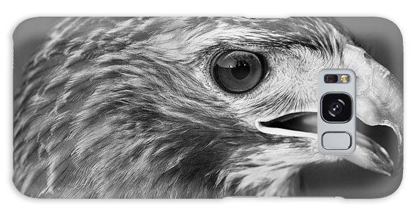 Black And White Hawk Portrait Galaxy S8 Case