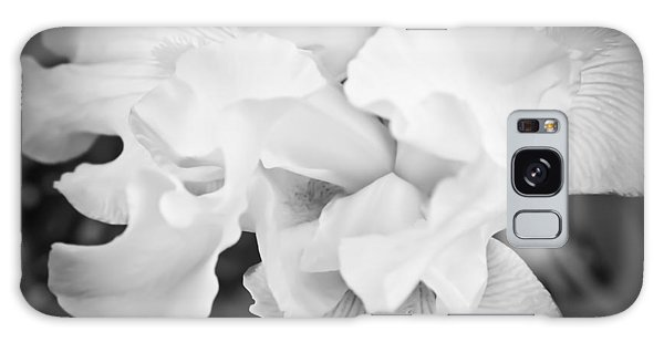Black And White Hibiscus Galaxy Case