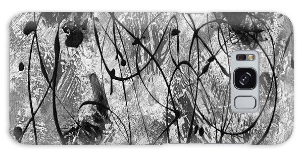 Black And White Galaxy Case by Nancy Merkle