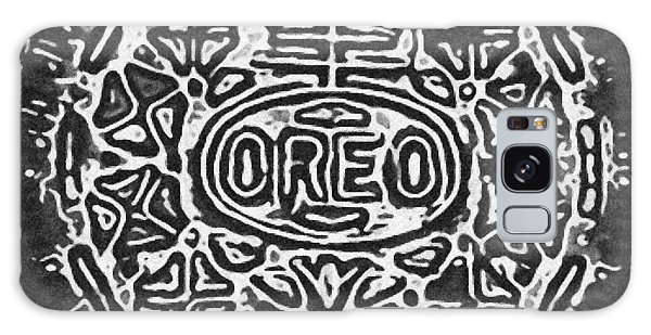 Galaxy Case - Black And White Oreo by Rob Hans