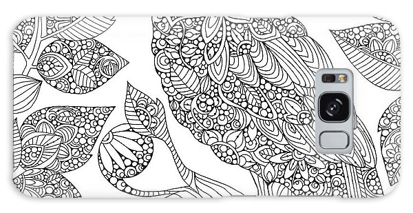 Colours Galaxy Case - Black And White Owl by MGL Meiklejohn Graphics Licensing