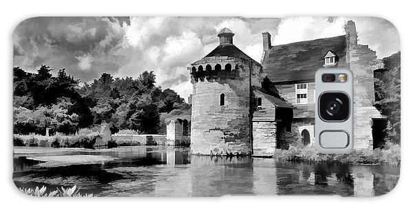 Scotney Castle In Mono Galaxy Case