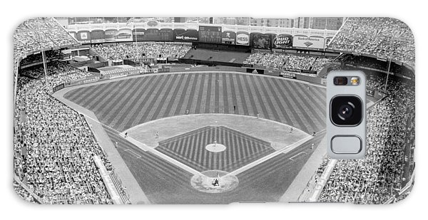 Black And White Yankee Stadium Galaxy S8 Case
