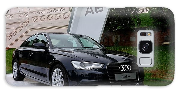 Black Audi A6 Classic Saloon Car Galaxy Case