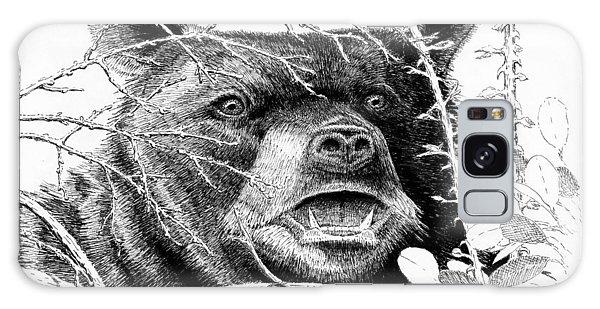 Black Bear Boar Galaxy Case