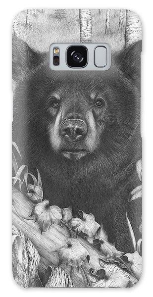 Black Bear On Newsome Creek Galaxy Case