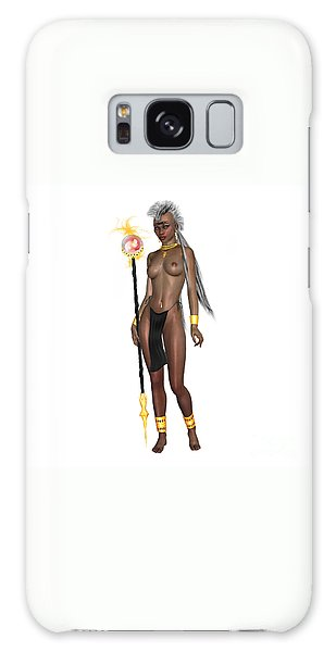 Luxmaris Galaxy Case - Black Beauty by Renate Janssen